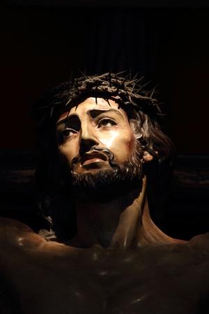 Image of Christ s forgiveness of San Fernando in Cadiz