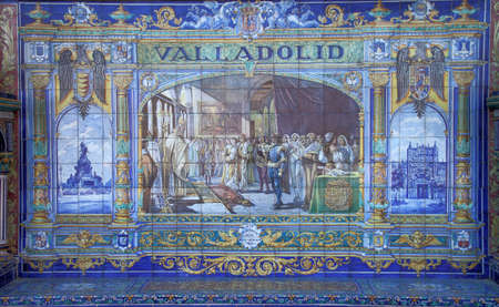 retablo: Valladolid retablo de cer�mica Editorial