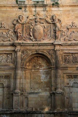 Detail of the church of San Francisco, Baeza, Ja�n