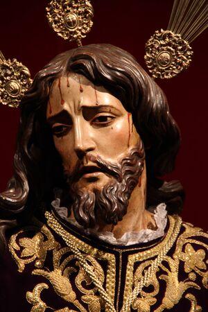 jerez: Arrest of Jesus, Easter de Jerez, Jerez, Spain Editorial