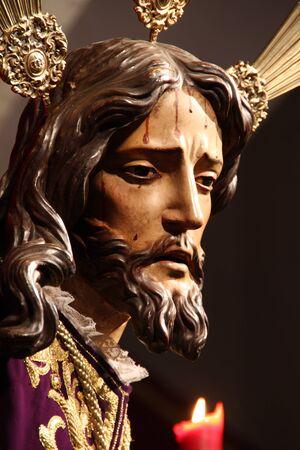 Arrest, images of Jesus, Jerez, Spain