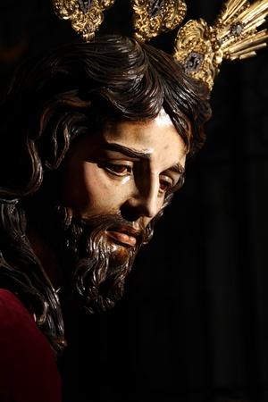 jerez: Image of Jesus, Easter de Jerez