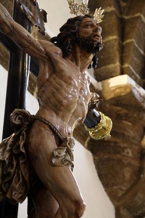 Christ s forgiveness of Cadiz, image made by Ortega Bru