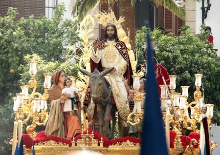 sorority: Brotherhood of the Entry into Jerusalem, Palm Sunday, Jerez