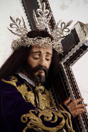 Image of Jesus of Nazareth, Medina Sidonia, Cadiz Stock Photo - 13108254