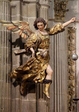 Picture of an angel, church San Miguel de Jerez