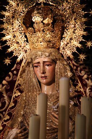 Virgin of the Incarnation, Easter, Jerez, Spain Stock Photo - 13134883
