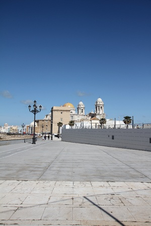 monumental: Monumental buildings, cathedrals of Cadiz