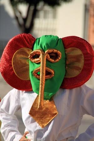 Barranquilla carnival in Cadiz parade