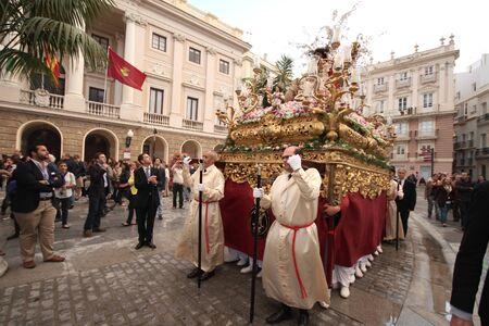 procession, Divina Pastora de C�diz Stock Photo - 13893751