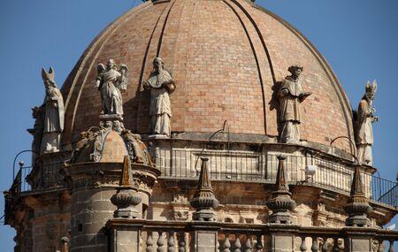 jerez: cathedral of Jerez Stock Photo