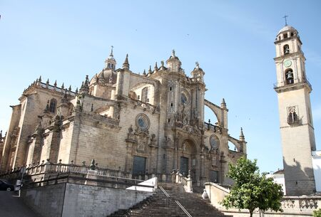 cathedral of Jerez Stock Photo