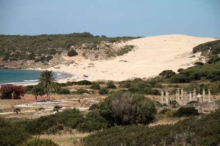 tarifa: Remains of the Roman city of Baelo Claudia Stock Photo