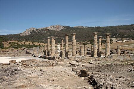 tarifa: A Roman city, Baelo Claudia Stock Photo