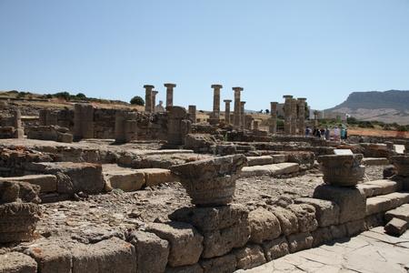 tarifa: Baelo Claudia, Roman ruins Stock Photo