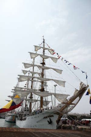 Colombian training ship