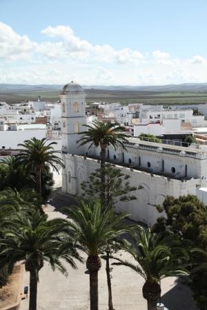 catalina: Conil, chiesa di Santa Catalina Archivio Fotografico