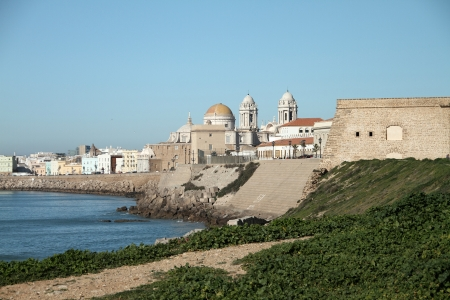 Panoramic view of the city of Cadiz, Spain