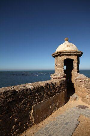 catalina: Cadice Castello di Santa Catalina Archivio Fotografico