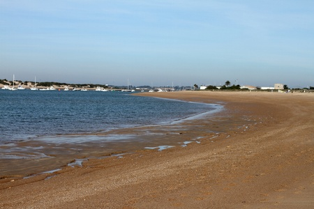 seaboard: Playa de Sancti Petri, Chiclana, Spain Stock Photo