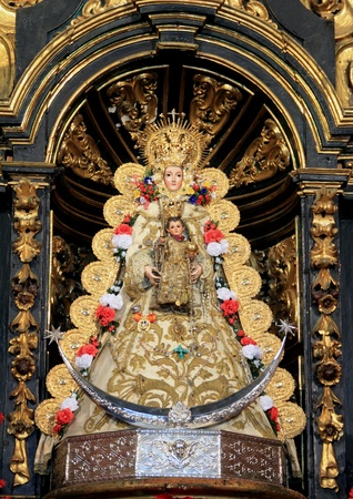 Virgen del Roco Stock Photo