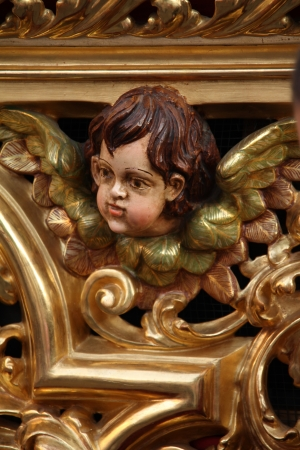 Ornamentation, religious sculpture
