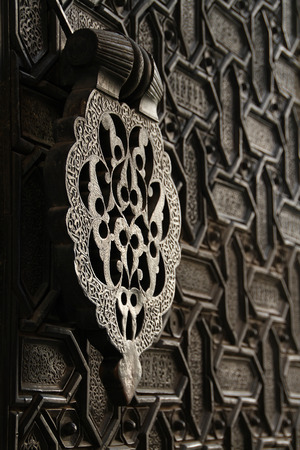 Aldaba nazar, Seville Cathedral Stock Photo