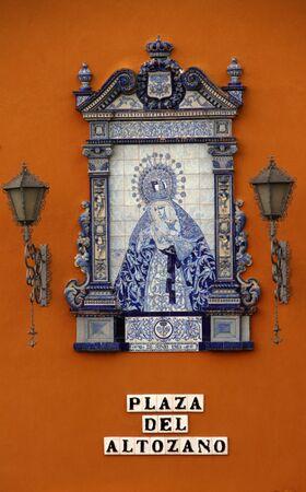 Esperanza de Triana, Ceramic Square Hillock, Sevilla