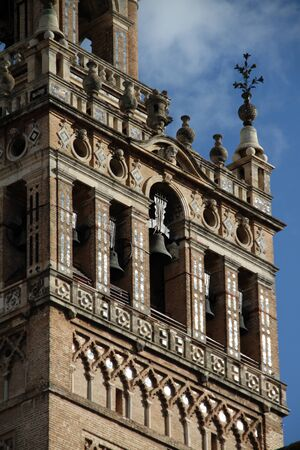 Detail of La Giralda, Seville Cathedral