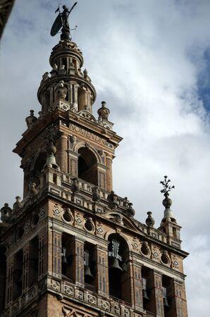 La Giralda bell tower Known worldwide Stock Photo
