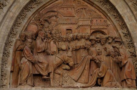 Entrada en Jerusalen, arquitectura religiosa, catedral de Sevilla