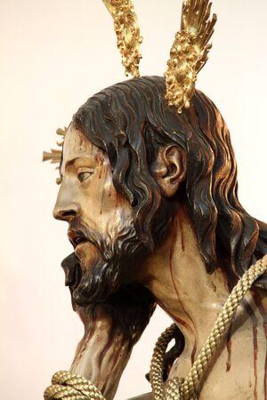humildad: Cristo de la Humildad y Paciencia, C�diz Foto de archivo