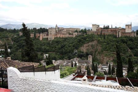 Alhambra in Granada Editorial