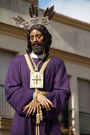 Captive Jesus, Holy Week in Jerez