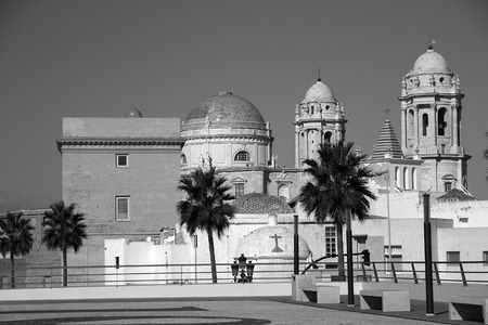 the americas: Cadiz Cathedral of the Americas