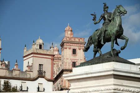 Cortes of Cadiz 1811, Monument. Stock Photo