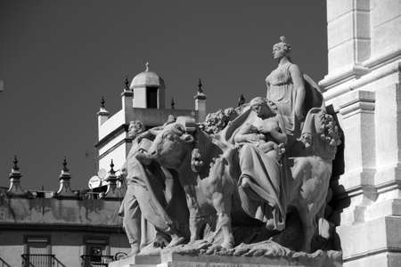 Monument to the Courts of Cadiz 1811