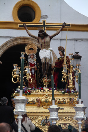 Easter, Chiclana, Spain
