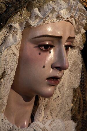 Virgen del Refugio, Sherry Easter