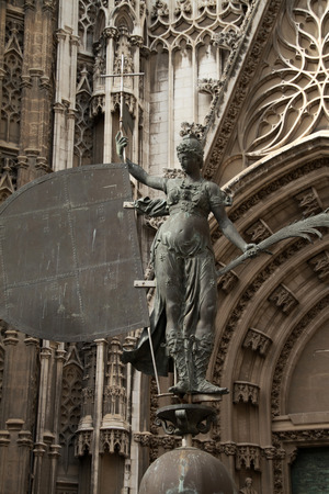 Giraldillo, weather vane of the cathedral of Seville