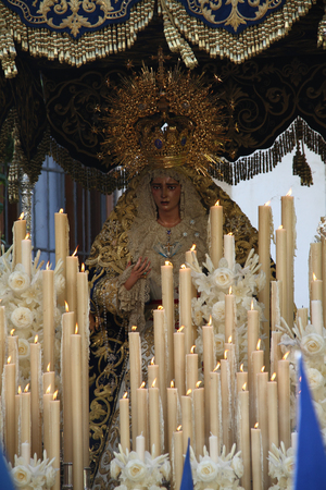 Virgen de la Estrella, Easter Jerez