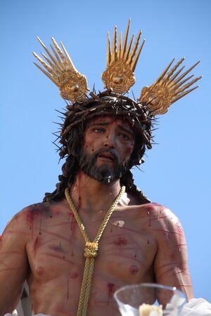 Jesus Stripped, Domingo de Ramos, Cadiz