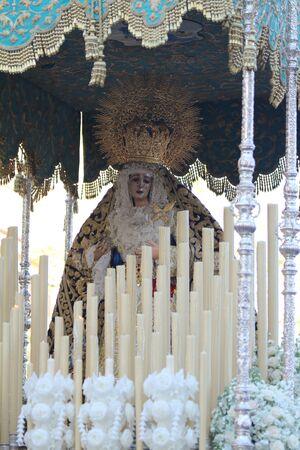 bitterness: Bitterness Virgin Easter in Jerez