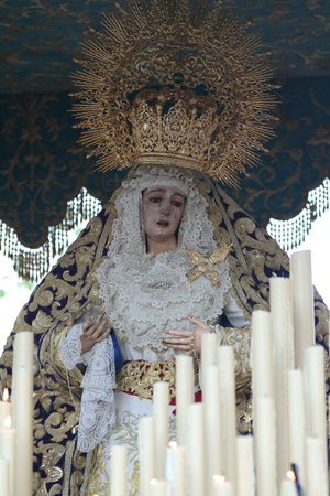jerez de la frontera: Bitterness Virgin of Jerez de la Frontera
