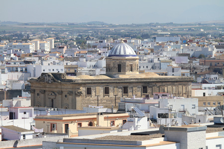 building monumental: Chiclana de la Frontera Spain Stock Photo