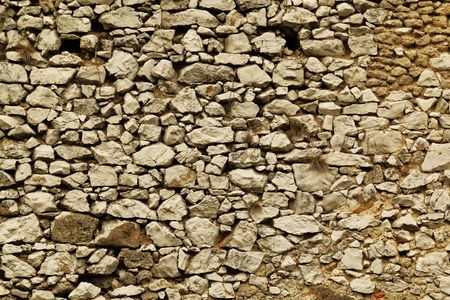 old ancient stone wall