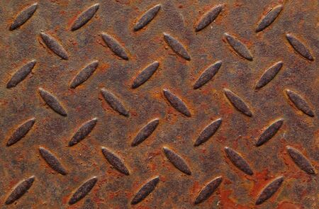 texture of old blight metal plate