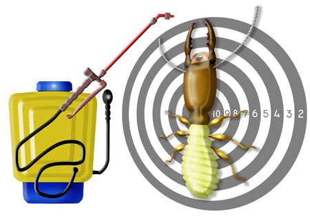 kill insect, professional sprayer