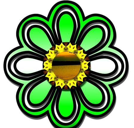 flowerpower: background graphic or logo flowerpower