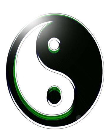 yin and yang decorative Stock Photo - 5514179